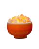 - آباژور سنگ نمک طرح کاسه مدل MFB - نارنجی