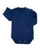 آدمک بادی آستین بلند نوزادی کد 171001 رنگ سرمه ای