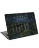 - استیکر لپ تاپ طرح نقاشی ون گوک