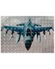 - استیکر لپ تاپ مدلAX101-181برای لپ تاپ15.6 اینچ-طرح هواپیما جنگی