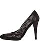 - کفش زنانه استفانل مدل sws14 - رنگ مشکی - پاشنه بلند - چرم طبیعی