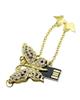 Non -Brand UJ-034 -طرح پروانه-فانتزی زنانه - دخترانه-64GB-USB 2.0