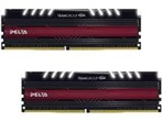 16GB-Delta White LED -DDR4 2400MHz CL15 Dual Channel