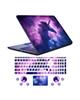 - استیکر لپ تاپ کد uni-corn01 به همراه برچسب حروف فارسی کیبورد