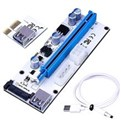 PCIE 1x to 16x Ver008C Riser Card USB 3.0 Adapter Extender
