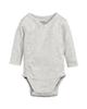 لباس نوزادی - بادی نوزادی لوپیلو کد 4438_b_1 - طوسی روشن