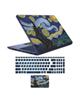 - استیکر لپ تاپ طرح شب پر ستاره کد 01 + برچسب حروف فارسی کیبورد