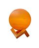 - آباژور سنگ نمک طرح گوی مدل MSP - نارنجی