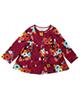 - پیراهن نوزادی دخترانه فرست ایمپرژن مدل 98760 - جگری - گل دار