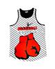 - تاپ ورزشی زنانه مدل boxing کد 209 - سفیدمشکی قرمز