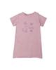 lupilu تی شرت نوزاد کد Z-J7 - صورتی - طرح خرگوش - آستین کوتاه