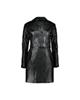 لباس زنانه پالتو زنانه کد 08 - مشکی براق