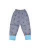 لباس نوزادی - شلوار نوزادی مدل خرسی B1 - خاکستری