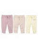 لباس نوزادی - شلوار نوزادی لوپیلو کد p03 مجموعه 3 عددی - لیمویی صورتی