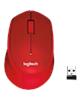 Logitech موس بی سیم مدل  M330 SILENT-رنگ قرمز
