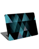 - استیکر لپ تاپ طرحblue and black triangleکد cl-109 برای 15.6 اینچ