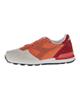 Diadora کفش مخصوص پیاده روی زنانه مدل6102-کرم نارنجی قرمز -چرم -پارچه مش