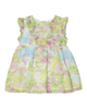 - پیراهن نوزادی دخترانه ایدکس مدلIDEXE LU-45363- سبز کمرنگ-طرح دار