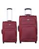 - مجموعه دو عددی چمدان کد 7301A - زرشکی - برزنت