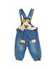 لباس نوزادی - سرهمی نوزادی دخترانه مدل تدی کد Je30 - آبی