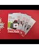 - کارت حافظه san disk 8GB