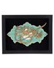 - تابلو معرق دی ان دی طرح خوشنویسی آیه الا بذکر الله کد TJ 022