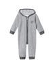 لباس نوزادی - سرهمی نوزادی پسرانه فیورلا مدل دومان کد 2902 - طوسی