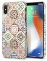 Thin Fit Arabesque Case Apple iPhone X