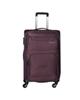 - چمدان مدل کاریبو مدل 6121 سایز متوسط - بنفش تیره