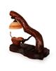 آرانیک آباژور چوبی قهوه ای طرح دو پرنده مدل 2217200010
