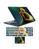 - استیکرلپ تاپ طرح شازده کوچولو کد02برای17اینچی+برچسب فارسی کیبورد