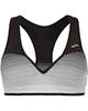 لباس زنانه نیم تنه ورزشی زنانه بروکس مدل 300627090 - مشکی سفید - طرح دار