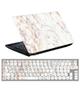 - استیکر لپ تاپ طرح سنگ مرمر کد0220-99برای15.6+ برچسب فارسی کیبورد