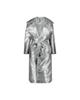 لباس زنانه بارانی زنانه کیکی رایکی مدل BB1017-093 - نقره ای براق