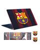- استیکر توییجین و موییجین بارسلونا کد04برای15.6 اینچ+برچسب کیبورد