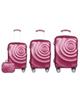 - مجموعه چهار عددی چمدان مدل 3691 - سرخابی