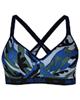 ماییلدا نیم تنه ورزشی زنانه مدل 3532-2 - طرح ارتشی - چریکی - زمینه آبی