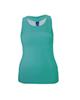 چیبو تاپ ورزشی زنانه مدل 1153-558 - سبزآبی - ساده
