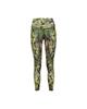 - لگینگ ورزشی زنانه کد 2105-1 - مشکی زرد سبز - طرح دار