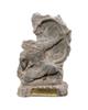 تندیس و پیکره شهریار مجسمه پلیاستر مدل تندیس آرش کمانگیر کد M280-2 سایز کوچک