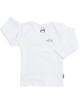 آدمک تی شرت آستین بلند نوزادی مدل Sun - رنگ سفید