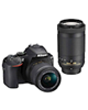Nikon D5600 kit 18-55 mm And 70-300 mm f/4.5-6.3G AF-P Digital Camera