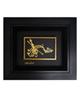- تابلو طلا کوب زرکات طرح موسیقی مدل F134