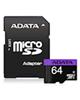 ADATA کارت حافظه microSDHCمدل Premier کلاس 10استاندارد64GB- UHS-I