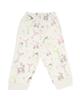 آدمک شلوار نوزادی مدل Carriage - شیری صورتی سبز مشکی