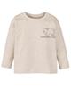 lupilu تیشرت نوزاد کد 4111 - کرم - آستین بلند