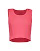 پانیل نیم تنه ورزشی زنانه کد 4061PK - گلبهی ساده