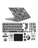 - استیکر لپ تاپ صالسو آرت مدل 5097 hk + برچسب حروف فارسی کیبورد