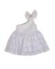 Fiorella پیراهن نوزادی دخترانه مدل 21208 - سفید - پاپیون دار