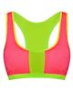 لباس زنانه نیم تنه ورزشی زنانه کد 340004004 - صورتی سبزفسفری